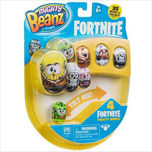 MIGHTY BEANZ, Fortnite 4 Pack-Toy - www.Gifteee.com - Cool Gifts \ Unique Gifts - The Best Gifts for Men, Women and Kids of All Ages