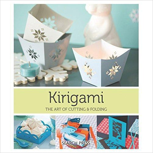 Kirigami: The Art Of Folding & Cutting Paper - Find special books, flip books, pop up books, mysterious books, unique map books, unusual creative books at Gifteee unique books for kids and adults