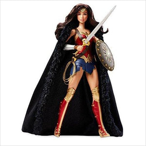 Barbie Wonder Woman Doll-Toy - www.Gifteee.com - Cool Gifts \ Unique Gifts - The Best Gifts for Men, Women and Kids of All Ages