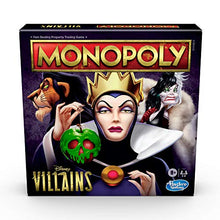 Load image into Gallery viewer, Monopoly: Disney Villains Edition