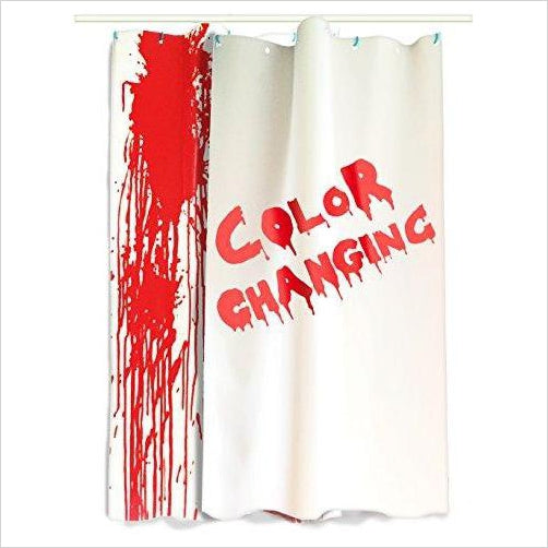 Bloody Shower Curtain - Color Changing! - Gifteee. Find cool & unique gifts for men, women and kids
