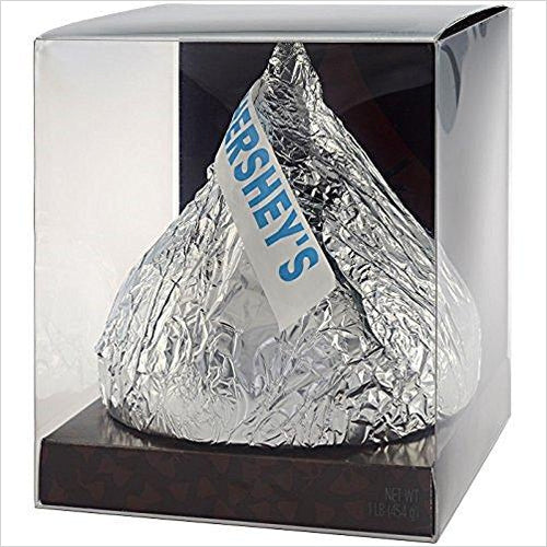Hershey's Kisses Giant Milk Chocolate, 12 Ounce - Gifteee. Find cool & unique gifts for men, women and kids