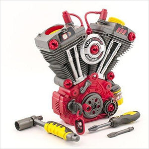 Toy Engine Builder Set-Toy - www.Gifteee.com - Cool Gifts \ Unique Gifts - The Best Gifts for Men, Women and Kids of All Ages