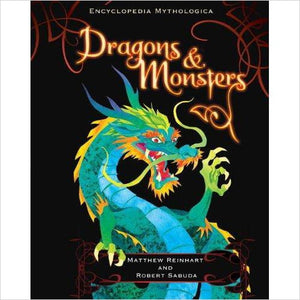 Encyclopedia Mythologica: Dragons and Monsters Pop-Up - Gifteee - Best Gift Ideas for Parents and Kids