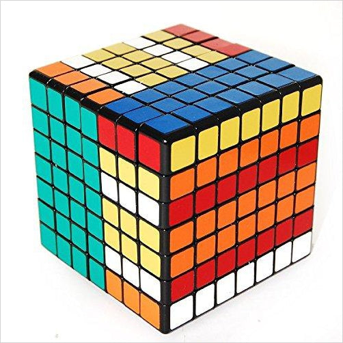 Rubik's Cube 7x7 - Find the most unique and unusual gifts. Weird gifts ideas that you never saw before. unusual gadgets, unique products that simply very odd at Gifteee Odd gifts, Unusual Gift ideas