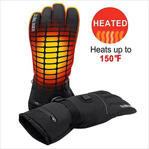 Rechargeable Battery Heated Gloves-Sports - www.Gifteee.com - Cool Gifts \ Unique Gifts - The Best Gifts for Men, Women and Kids of All Ages