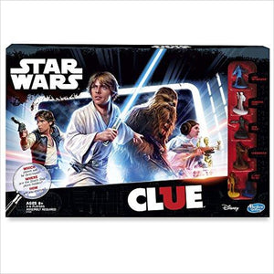 Clue Game: Star Wars Edition - Find unique gifts for Star Wars fans, new star wars games and Star wars LEGO sets, star wars collectibles, star wars gadgets and kitchen accessories at Gifteee Cool gifts, Unique Gifts for Star Wars fans