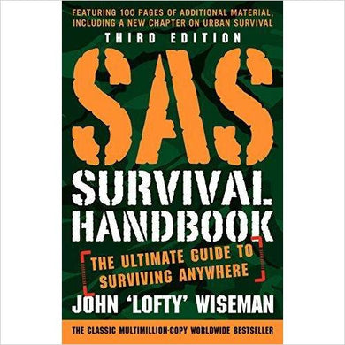SAS Survival Handbook - Gifteee - Unique Gift Ideas for Adults & Kids of all ages. The Best Birthday Gifts & Christmas Gifts.