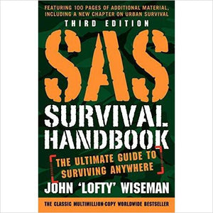 SAS Survival Handbook - Gifteee - Best Gift Ideas for Parents and Kids