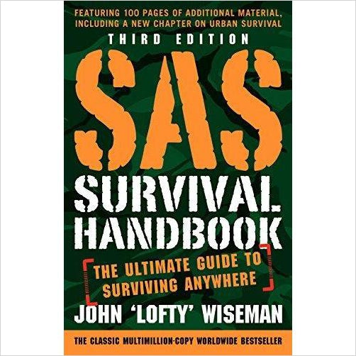 SAS Survival Handbook - Find special books, flip books, pop up books, mysterious books, unique map books, unusual creative books at Gifteee unique books for kids and adults