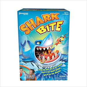 Pressman Toys Shark Bite Game - Gifteee. Find cool & unique gifts for men, women and kids
