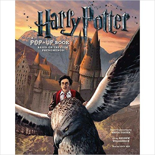 Harry Potter: A Pop-Up Book - Find special gifts for girls and tweens age 5-11 year old, gifts for your daughter, gifts for your kids birthday or Christmas, gifts for a young princess, gifts for you children classmates and friends at Gifteee Unique Gifts, Cool gifts for girls