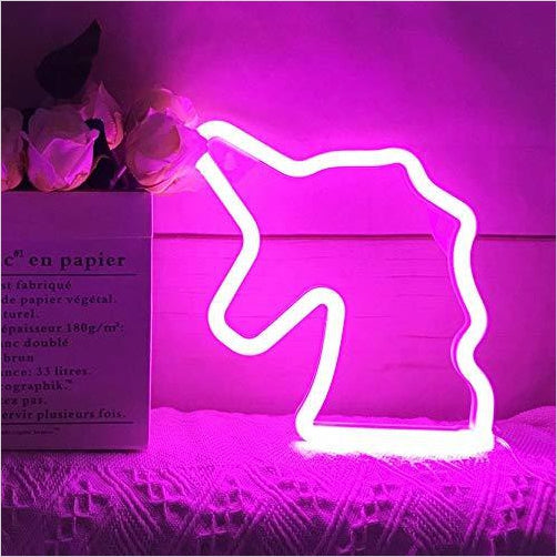 Neon Light - LED Unicorn Sign-Home - www.Gifteee.com - Cool Gifts \ Unique Gifts - The Best Gifts for Men, Women and Kids of All Ages