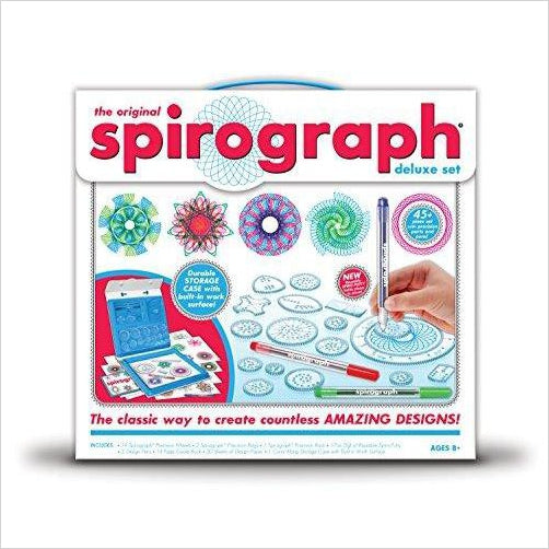 Spirograph Deluxe Design Set-Toy - www.Gifteee.com - Cool Gifts \ Unique Gifts - The Best Gifts for Men, Women and Kids of All Ages