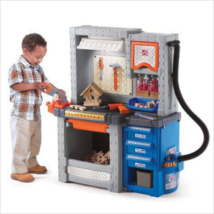 Deluxe Workshop Playset-Toy - www.Gifteee.com - Cool Gifts \ Unique Gifts - The Best Gifts for Men, Women and Kids of All Ages