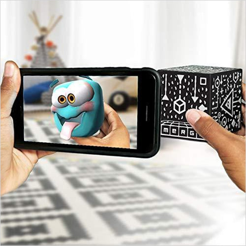 MERGE Cube - Augmented Reality STEM Toy - Learn Science, Math, and More-Toy - www.Gifteee.com - Cool Gifts \ Unique Gifts - The Best Gifts for Men, Women and Kids of All Ages