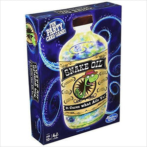 Snake Oil Game - Find funny gift ideas, the best gag gifts, gifts for pranksters that will make everybody laugh out loud at Gifteee Cool gifts, Funny gag Gifts for adults and kids