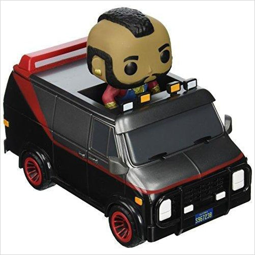 Funko POP Ride: A-Team Van - B.A. Baracus Action Figure-Toy - www.Gifteee.com - Cool Gifts \ Unique Gifts - The Best Gifts for Men, Women and Kids of All Ages