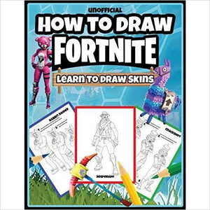 How to Draw Fortnite: Learn to Draw Skins-book - www.Gifteee.com - Cool Gifts \ Unique Gifts - The Best Gifts for Men, Women and Kids of All Ages