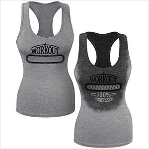 Sweat Activated Women's Tank Top, Workout Complete Shirt - Find the perfect gift for a sport fan, gifts for health fitness fans at Gifteee Cool gifts, Unique Gifts for wellness, sport and fitness