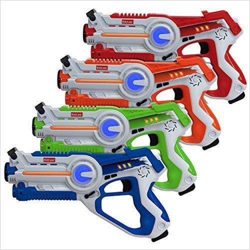 Infrared Laser Tag (4 pack)-Toy - www.Gifteee.com - Cool Gifts \ Unique Gifts - The Best Gifts for Men, Women and Kids of All Ages