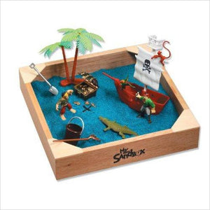 My Little Sandbox - Pirates Ahoy! Play Set-Toy - www.Gifteee.com - Cool Gifts \ Unique Gifts - The Best Gifts for Men, Women and Kids of All Ages