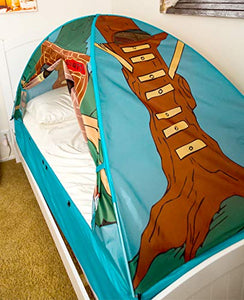 Tree House Bed Tent - Find special gifts for girls and tweens age 5-11 year old, gifts for your daughter, gifts for your kids birthday or Christmas, gifts for a young princess, gifts for you children classmates and friends at Gifteee Unique Gifts, Cool gifts for girls
