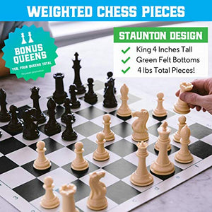 Extra Heavy Weighted Chess Set