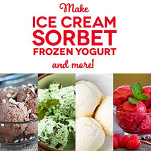Load image into Gallery viewer, Deluxe Ice Cream Frozen Yogurt & Sorbet Maker - Find unique gifts that will get you kids eating well and eating healthy with unique foodie gifts for kids dinner and the kitchen at Gifteee Cool gifts, Unique Gifts that will make kids enjoy eating