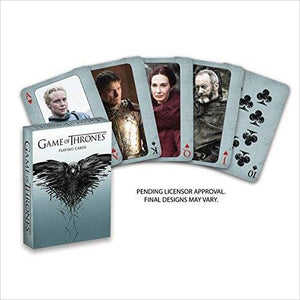 Game of Thrones Playing Cards - Second Edition-Toy - www.Gifteee.com - Cool Gifts \ Unique Gifts - The Best Gifts for Men, Women and Kids of All Ages