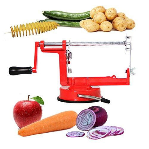 Tornado Potato Chips Slicer - Find unique gifts that will get you kids eating well and eating healthy with unique foodie gifts for kids dinner and the kitchen at Gifteee Cool gifts, Unique Gifts that will make kids enjoy eating