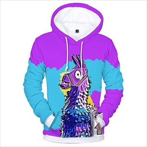 Fortnite Llama Hoodie-hoodie - www.Gifteee.com - Cool Gifts \ Unique Gifts - The Best Gifts for Men, Women and Kids of All Ages