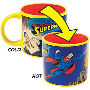 Batman Heat Changing Coffee Mug-Kitchen - www.Gifteee.com - Cool Gifts \ Unique Gifts - The Best Gifts for Men, Women and Kids of All Ages