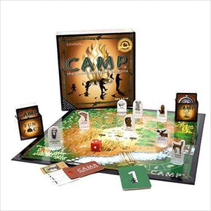 Camp Board Game-Toy - www.Gifteee.com - Cool Gifts \ Unique Gifts - The Best Gifts for Men, Women and Kids of All Ages