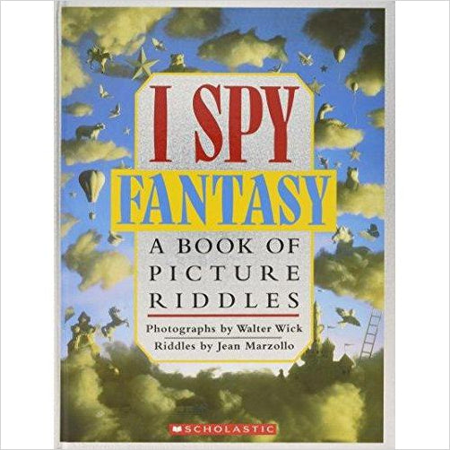 I Spy Fantasy: A Book of Picture Riddles-book - www.Gifteee.com - Cool Gifts \ Unique Gifts - The Best Gifts for Men, Women and Kids of All Ages