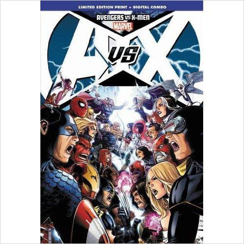Avengers vs. X-Men (Limited Signed Edition) - Gifteee - Unique Gift Ideas for Adults & Kids of all ages. The Best Birthday Gifts & Christmas Gifts.