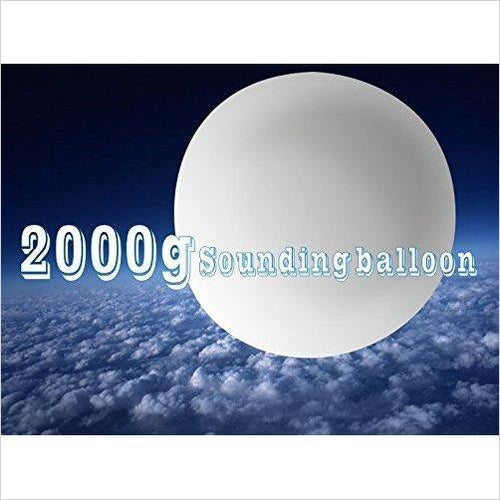 High Altitude Weather Balloon  2000g - Gifteee. Find cool & unique gifts for men, women and kids