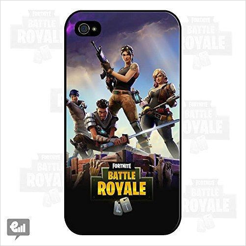 Fortnite Battle Royale iPhone Case Cover - Find Fortnite Battle Royale and Fortnite Chapter 2 Gifts for Fortnite Fans, and Epic games official gifts at Gifteee Unique Gifts, Cool gifts for kids and gamers