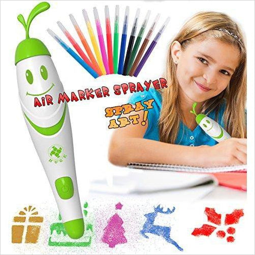 Airbrush Pen for Kids - Find unique arts and crafts gifts for creative people who love a new hobby or expand a current hobby, art accessories, craft kits and models at Gifteee Cool gifts, Unique Gifts for arts and crafts lovers