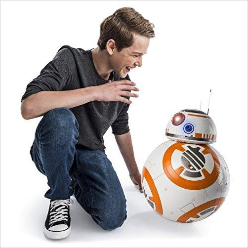 Star Wars - Hero Droid BB-8 - Fully Interactive Droid - Find the newest innovations, cool gadgets to use at home, at the office or when traveling. amazing tech gadgets and cool geek gadgets at Gifteee Cool gifts, Unique Tech Gadgets and innovations