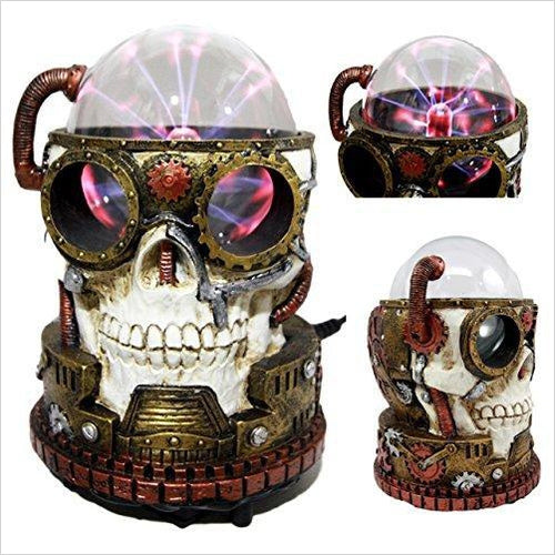 Plasma Core Reactor Skull-Home - www.Gifteee.com - Cool Gifts \ Unique Gifts - The Best Gifts for Men, Women and Kids of All Ages