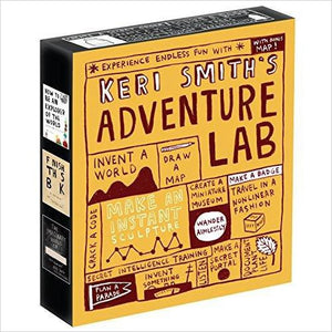Keri Smith's Adventure Lab - Gifteee. Find cool & unique gifts for men, women and kids