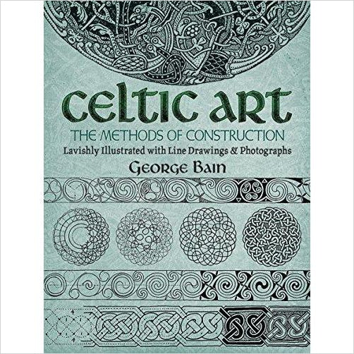 Celtic Art: The Methods of Construction (Game of Thrones Inspiration)-celtic art - www.Gifteee.com - Cool Gifts \ Unique Gifts - The Best Gifts for Men, Women and Kids of All Ages