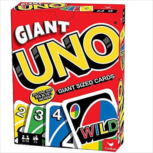 Giant Uno Card Game-Toy - www.Gifteee.com - Cool Gifts \ Unique Gifts - The Best Gifts for Men, Women and Kids of All Ages