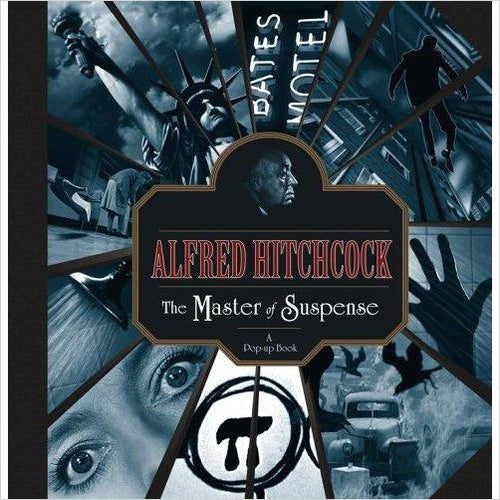 Alfred Hitchcock: The Master of Suspense: A Pop-up Book - Gifteee. Find cool & unique gifts for men, women and kids