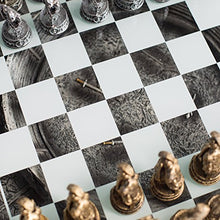Load image into Gallery viewer, Unique Roman Gladiators Chess Set