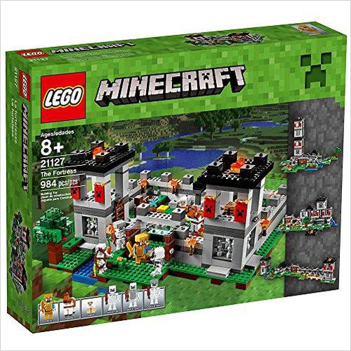 LEGO Minecraft The Fortress-Toy - www.Gifteee.com - Cool Gifts \ Unique Gifts - The Best Gifts for Men, Women and Kids of All Ages