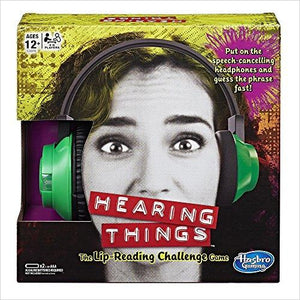 Hearing Things Game-Toy - www.Gifteee.com - Cool Gifts \ Unique Gifts - The Best Gifts for Men, Women and Kids of All Ages