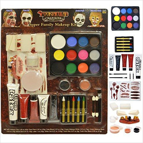 Halloween Makeup Ultimate Family Party Pack (36 PCS)-Toy - www.Gifteee.com - Cool Gifts \ Unique Gifts - The Best Gifts for Men, Women and Kids of All Ages