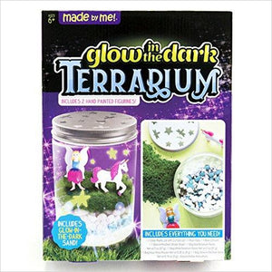Light up Unicorn Terrarium - Find unique arts and crafts gifts for creative people who love a new hobby or expand a current hobby, art accessories, craft kits and models at Gifteee Cool gifts, Unique Gifts for arts and crafts lovers